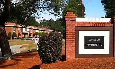 Community Signage, WINDSOR APARTMENTS, 0