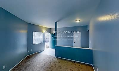 Living Room, 753 Lincoln Avenue D, 0