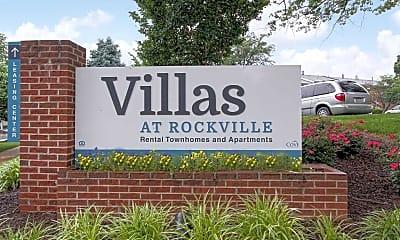 Community Signage, Villas at Rockville, 2