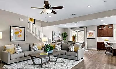 Living Room, 6910 Peak Way, 2