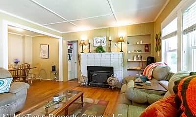 Living Room, 1408 N Mann Ave, 0