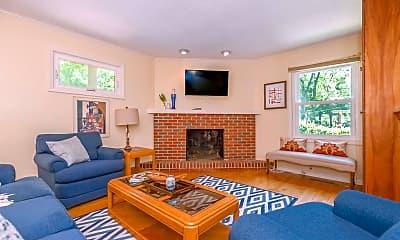 Living Room, 305 W 96th Terrace, 0