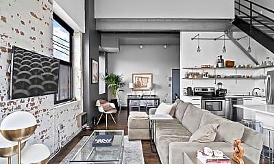 Living Room, 3309 Blake St, 1