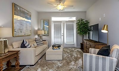 Living Room, Riverstone Apartments at Long Shoals, 0