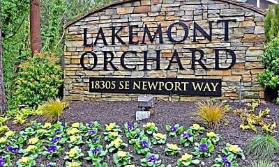 Community Signage, Lakemont Orchard, 2