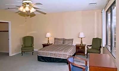 Bedroom, Siegel Suites Virginian, 2