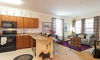 Kitchen, 1200 Acqua Luxury Apartments, 0