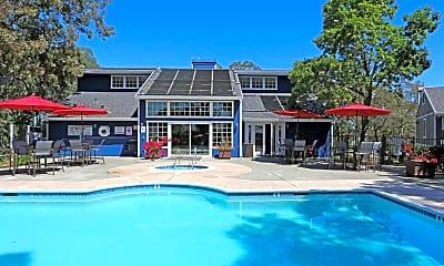 Pool, Bay Village Apartments, 0