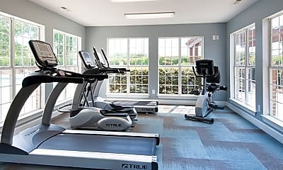 Fitness Weight Room, MAA Fifty-One, 1