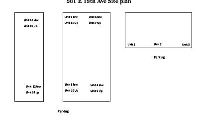 Building, 361 E 13th Ave, 1