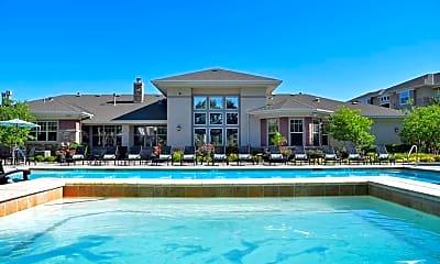 Pool, Corbin Crossing Apartments, 1