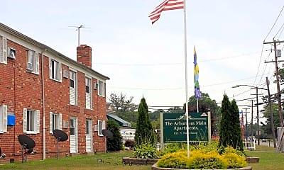 Community Signage, The Arbors On Main, 2
