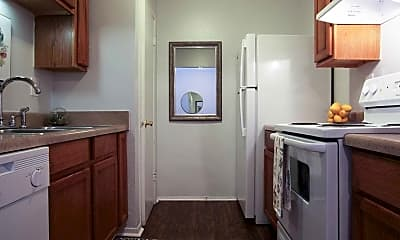 Kitchen, Serenity Apartments At Mobile, 1