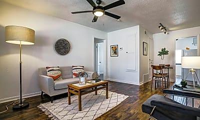 Living Room, 1722 N Lindsay Avenue, 1