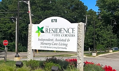 THE RESIDENCES AT FIVE CORNERS, 1