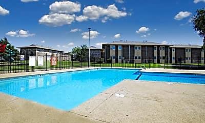 Pool, Plaza Hills East, 1