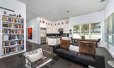 Living Room, 4925 Collins Ave 1B, 0