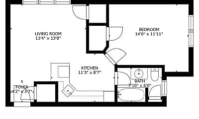 Building, 154 Bedford St, 2