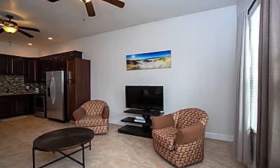 Living Room, 3820 S Atlantic Ave B, 1