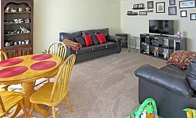 Living Room, Woodside Court, 1