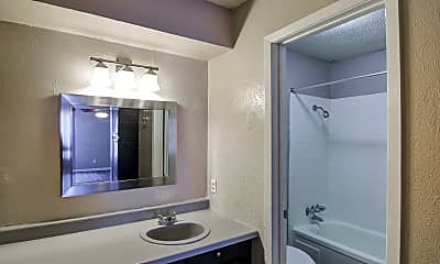 Bathroom, Amberwoods Apartments, 2