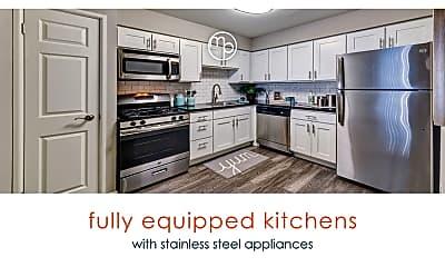 Kitchen, Midpointe Apartments, 0