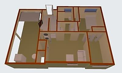 Living Room, 127 NE 164th St, 2