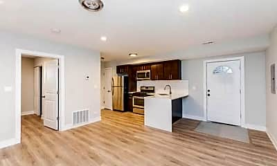 Living Room, 2223 W 21st St 1F, 1