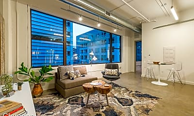 Living Room, 200 10th St, 1