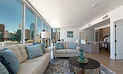 Living Room, 1050 S Grand Ave 1901, 2
