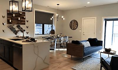 Living Room, 621 W Wellington Ave, 0
