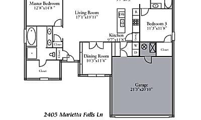 Building, 2405 Marietta Falls Ln, 2