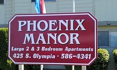 Community Signage, 425 S Olympia St, 0