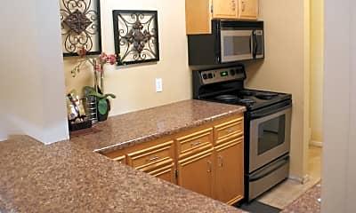 Kitchen, Cascade Apartments, 2