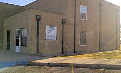 Building, Pecos Apartments, 1