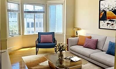 Living Room, 1921 Fulton St, 1