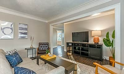 Living Room, 401 E 85th St, 1