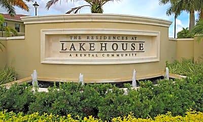 Community Signage, Residences at Lakehouse, 1