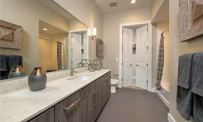 Bathroom, Catalyst Houston, 2