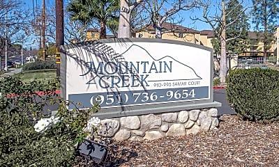 Community Signage, Mountain Creek Apartments, 2