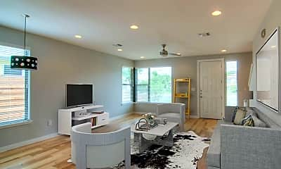Living Room, 4303 Red River St, 1