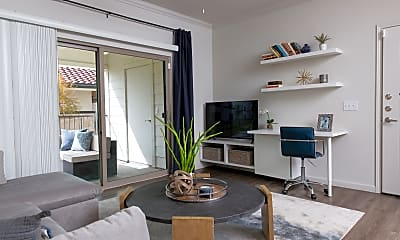 Living Room, Stone Hill Luxury Apartments, 1