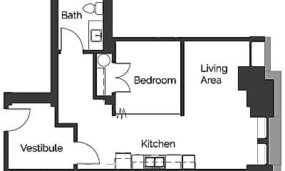 Kitchen, 301 W 1st St, 1