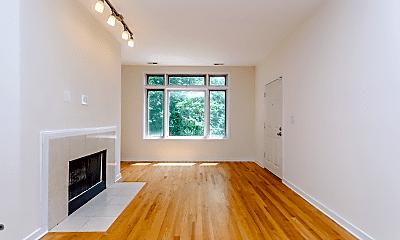 Living Room, 1344 W Grenshaw St, 1