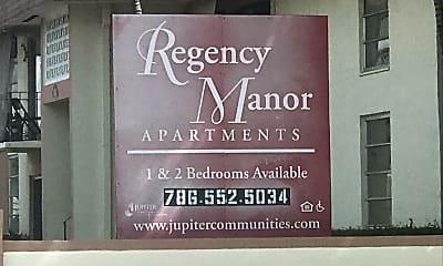 Regency Manor, 1