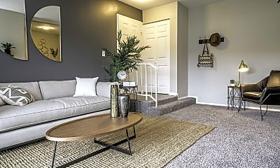 Living Room, Halsey Flats, 1