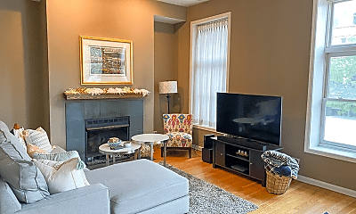 Living Room, 1756 W Division St, 0