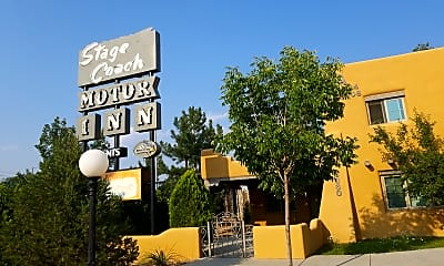 Stagecoach Motor Inn Conversion to Low Income Housing, 1