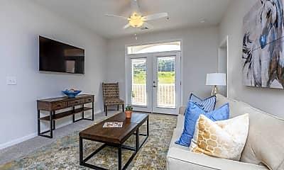 Living Room, Riverstone Apartments at Long Shoals, 1