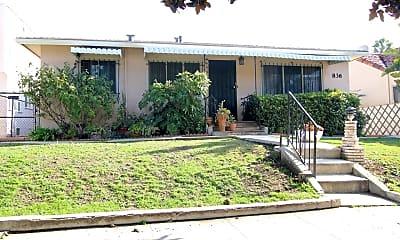 Building, 836 N Fuller Ave, 1